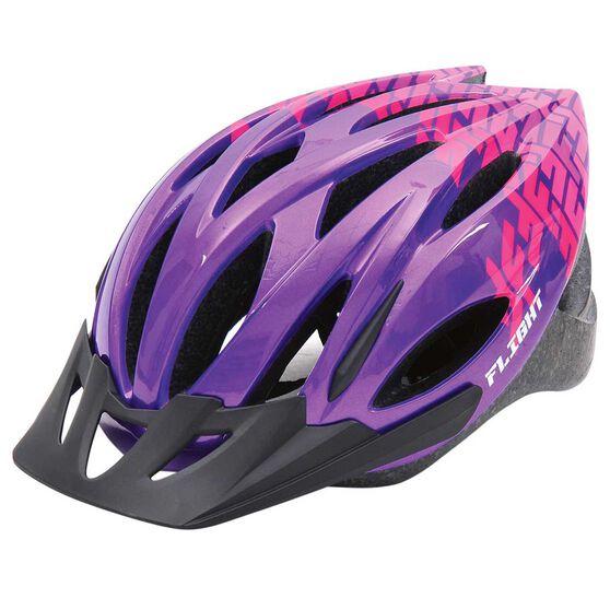 Flight Explorer Kids Bike Helmet Purple / Pink 51 to 55cm, , rebel_hi-res