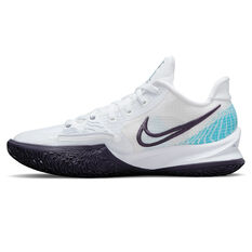 Nike Kyrie Low 4 White Laser Blue Basketball Shoes White US 7, White, rebel_hi-res
