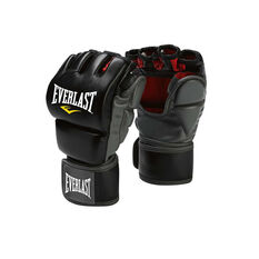 Everlast MMA Grappling Training Glove Black Black L / XL, Black, rebel_hi-res