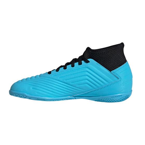 adidas Predator 19.3 Kids Indoor Soccer Shoes, Blue / Black, rebel_hi-res