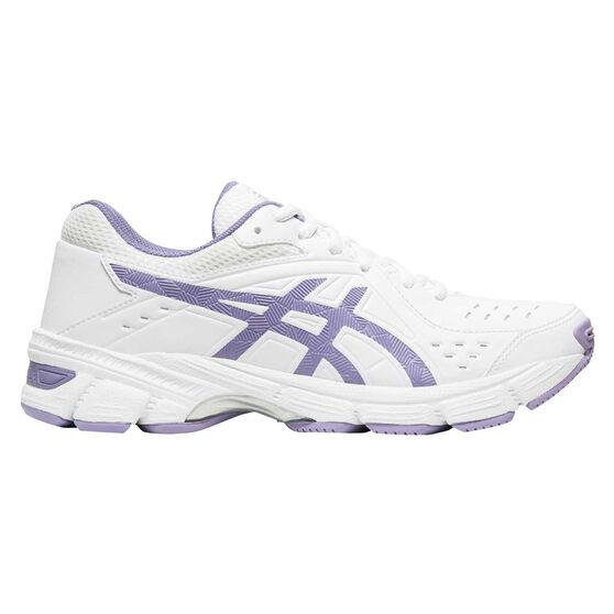 Asics Gel 195TR D Womens Training Shoes, White / Blue, rebel_hi-res