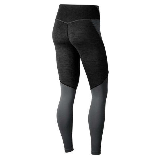 Nike Womens One Tights, Black, rebel_hi-res