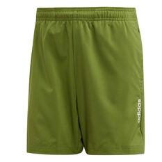 adidas Mens Essentials Plain Chelsea Shorts Green XS, Green, rebel_hi-res