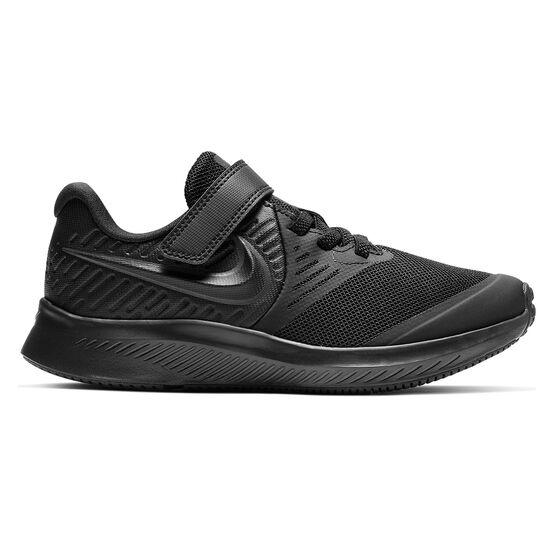 Nike Star Runner 2 Kids Running Shoes, Black, rebel_hi-res