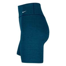 Nike One Womens Shorts, Blue, rebel_hi-res