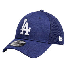 Los Angeles Dodgers New Era Spacer Stretch 39THIRTY Cap Blue S/M S/M, Blue, rebel_hi-res