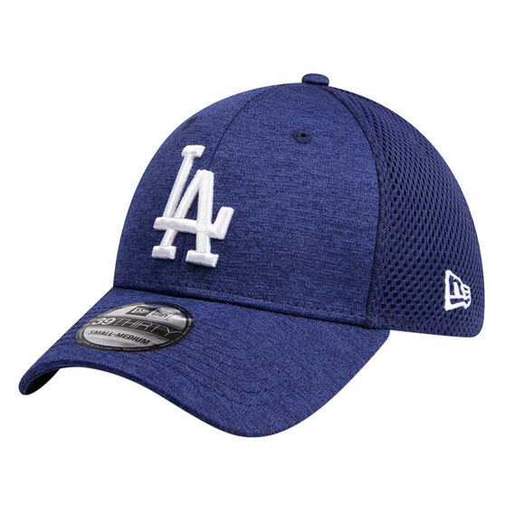 Los Angeles Dodgers New Era Spacer Stretch 39THIRTY Cap, Blue, rebel_hi-res