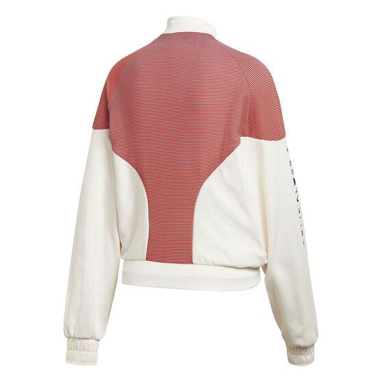 adidas Karlie Kloss Womens Cover Up Jacket, White, rebel_hi-res