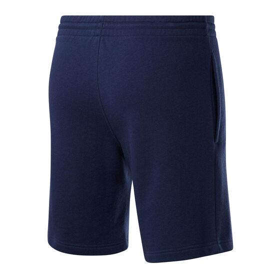 Reebok Mens Big Logo Shorts, Navy, rebel_hi-res