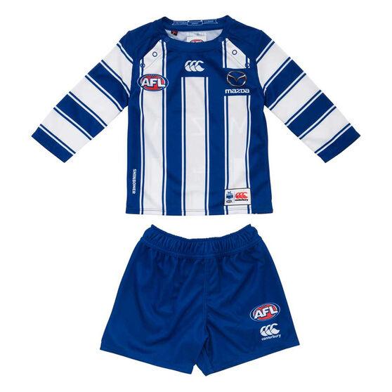 North Melbourne Kangaroos 2020 Infants Home Kit, , rebel_hi-res