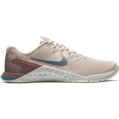 Nike Metcon 4 Womens Training Shoes Pink / Silver US 6, Pink / Silver, rebel_hi-res