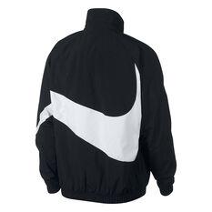 Nike Mens Sportswear Swoosh Statement Windbreaker Black XS, Black, rebel_hi-res