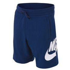 Nike Boys Sportswear Alumni Shorts Blue 4, Blue, rebel_hi-res