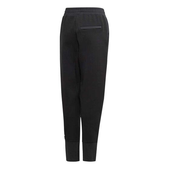 adidas Boys VRCT Training Pants, Black / White, rebel_hi-res