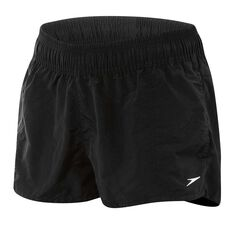 Speedo Womens Classic Watershorts Black XS, Black, rebel_hi-res