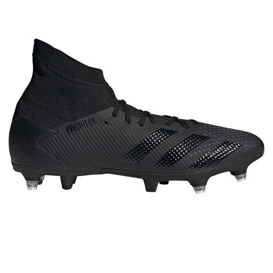 adidas Predator 20.3 SG Football Boots, Black, rebel_hi-res