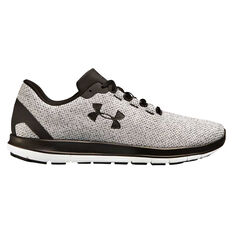 Under Armour Remix Mens Running Shoes Grey / Black US 7, Grey / Black, rebel_hi-res