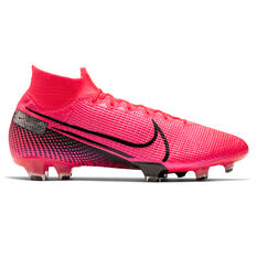 Nike Mercurial Superfly VII Elite Football Boots, Black / Red, rebel_hi-res
