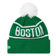 Boston Celtics 2019 Kids New Era Knits On Fire Beanie, , rebel_hi-res