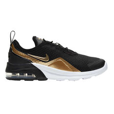Nike Air Max Motion 2 Kids Casual Shoes Black / Gold US 12, Black / Gold, rebel_hi-res