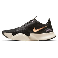 Nike SuperRep Go Womens Training Shoes White/Black US 6, White/Black, rebel_hi-res