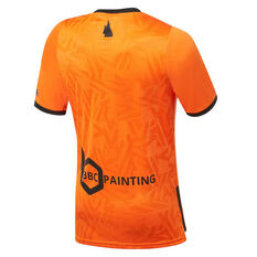 Brisbane Roar 2019/20 Mens Home Jersey Orange S, Orange, rebel_hi-res