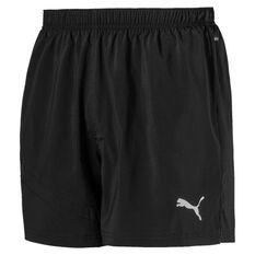 Puma Mens Ignite 5in Training Shorts Black S, Black, rebel_hi-res