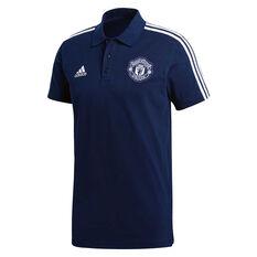 785c49dfb Manchester United FC 2018   19 Mens 3-Stripes Polo Shirt