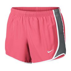 Nike Girls Dry Tempo Shorts Pink / Grey XS, Pink / Grey, rebel_hi-res