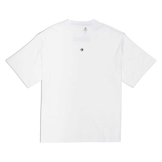 Converse Adult Cross Over Tee, White, rebel_hi-res