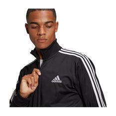 adidas Mens Essentials 3-Stripes Classic Tracksuit, Black, rebel_hi-res