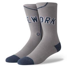 Stance Mens New York Yankees Away Jersey Socks Multi M, Multi, rebel_hi-res