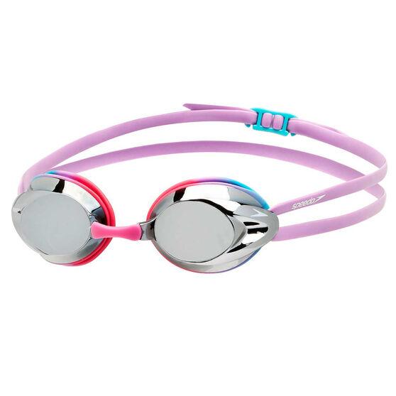 Speedo Opal Mirror Junior Swim Goggles, , rebel_hi-res