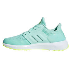 adidas Rapidarun Kids Running Shoes Green / White US 11, Green / White, rebel_hi-res