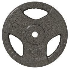 Celsius 10kg Tri Grip Weight Plate, , rebel_hi-res