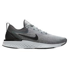 Nike Odyssey React Mens Running Shoes Grey / Black US 7, Grey / Black, rebel_hi-res