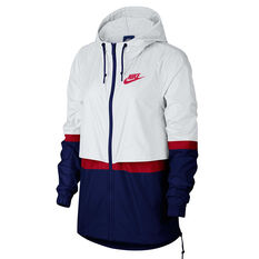 8f2c042d4 Nike Womens Sportswear Woven Jacket White XS, White, rebel_hi-res ...