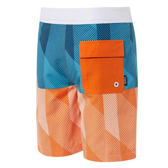 Tahwalhi Boys Outrider Splice Board Shorts, Blue / White, rebel_hi-res