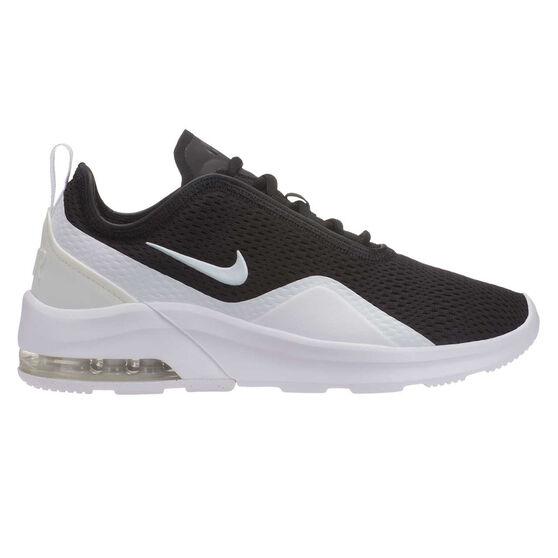 Nike Air Max Motion 2 Womens Casual Shoes, Black / White, rebel_hi-res
