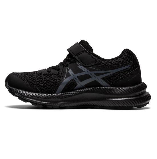 Asics Contend 7 Kids Running Shoes, Black, rebel_hi-res