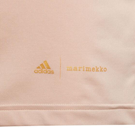 adidas x Marimekko Girls Unikko 3-Stripes Tee, Blush, rebel_hi-res