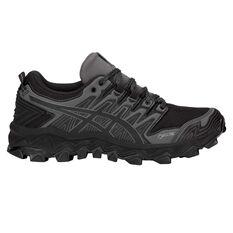 Asics Gel Fuji Trabuco 7 G TX Womens Trail Running Shoes Black / Grey US 6, Black / Grey, rebel_hi-res
