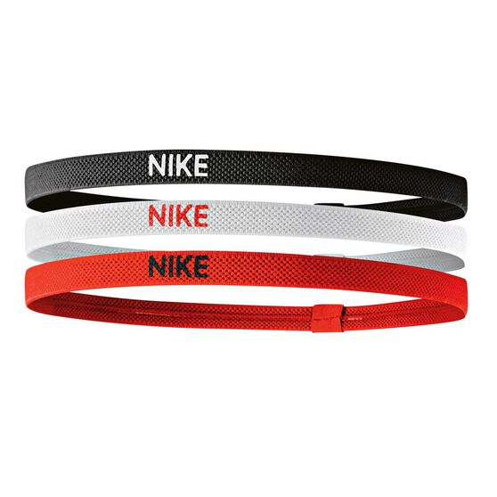Nike Womens Elastic Hair Bands 3 pack Multi OSFA, , rebel_hi-res