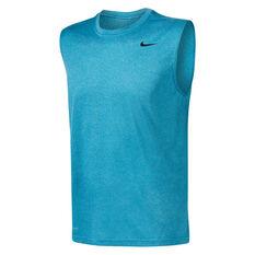 Nike Mens Dri-FIT Legend Training Tank Blue S, Blue, rebel_hi-res
