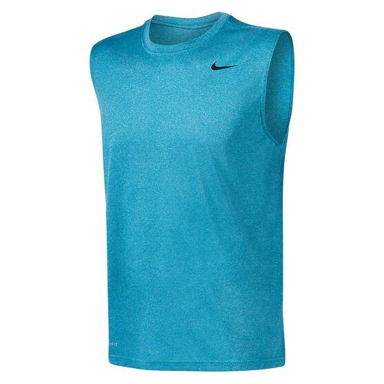 Nike Mens Dri-FIT Legend Training Tank, Blue, rebel_hi-res