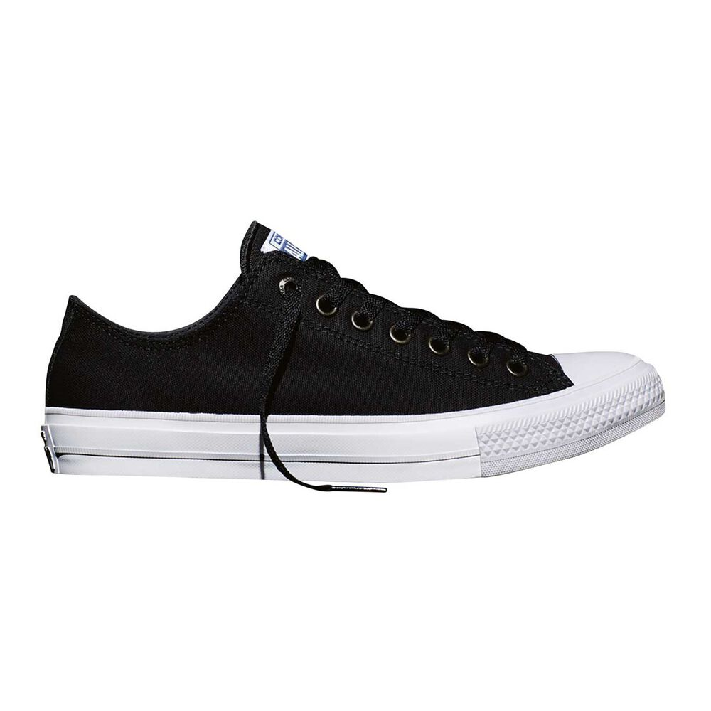 3ced994e1757 Converse Chuck Taylor All Star II Low Top Casual Shoes Black   White US 4