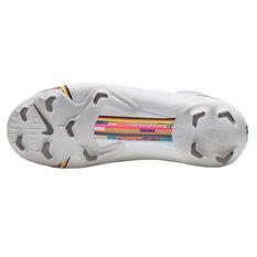 Nike Mercurial Superfly VI Elite Kids Football Boots White / Black US 4, White / Black, rebel_hi-res