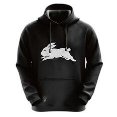 South Sydney Rabbitohs Mens Outline Hoodie, , rebel_hi-res