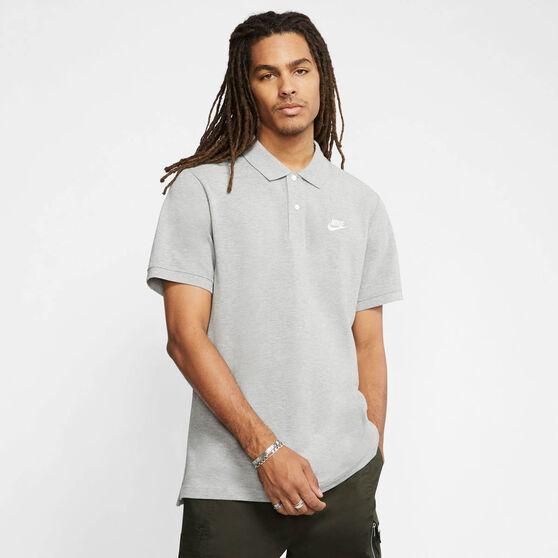 Nike Mens Sportswear Matchup Polo, Grey, rebel_hi-res