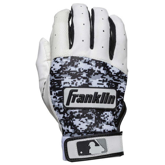 Franklin Digitek Batting Glove, White, rebel_hi-res